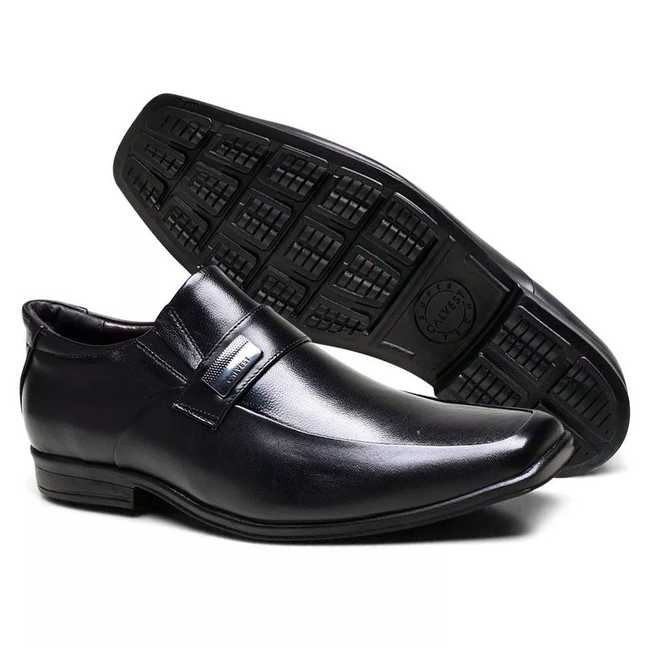 Sapato Calvest Couro - 3320C605