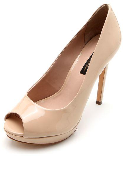 Sapato Jorge Bischoff Peep Toe - J31200004a05