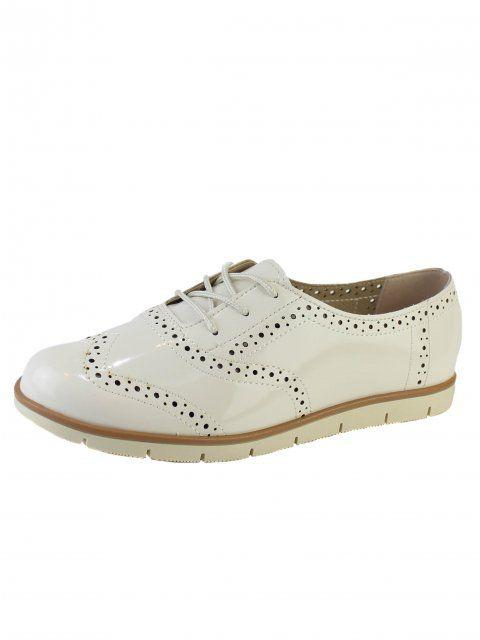 Sapato Moleca Oxford Brogue - 5613.318