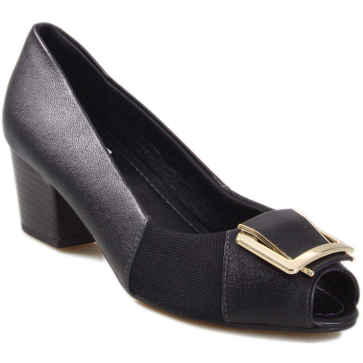 Sapato Usaflex Fivela - Q6672