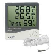 Termo - Higrômetro Digital AKSO AK28