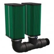 Kit filtro MixLife 2008 - Duplo estágio - para compressores de entrada 2
