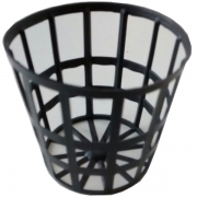 Vaso para Hidroponia - Netpot - 3,5mm - 100 unidades