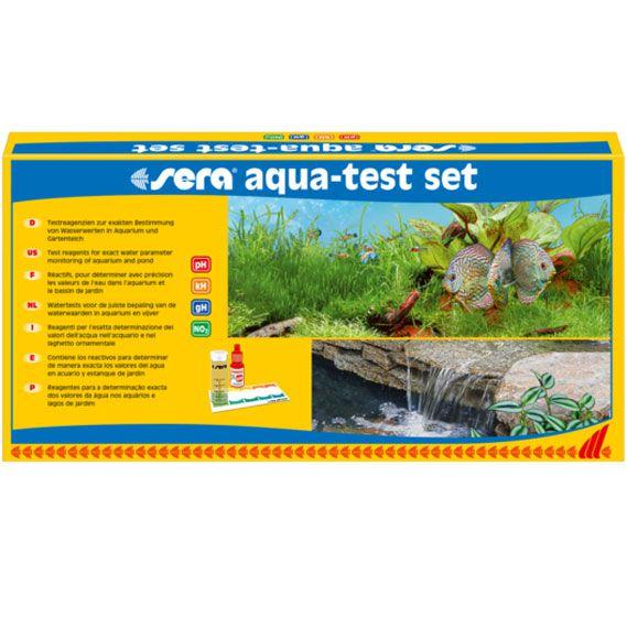 Aqua Test Set - PH, KH, GH, No2 - SERA  - MixVidas - Sistemas Aquapônicos e Multitróficos