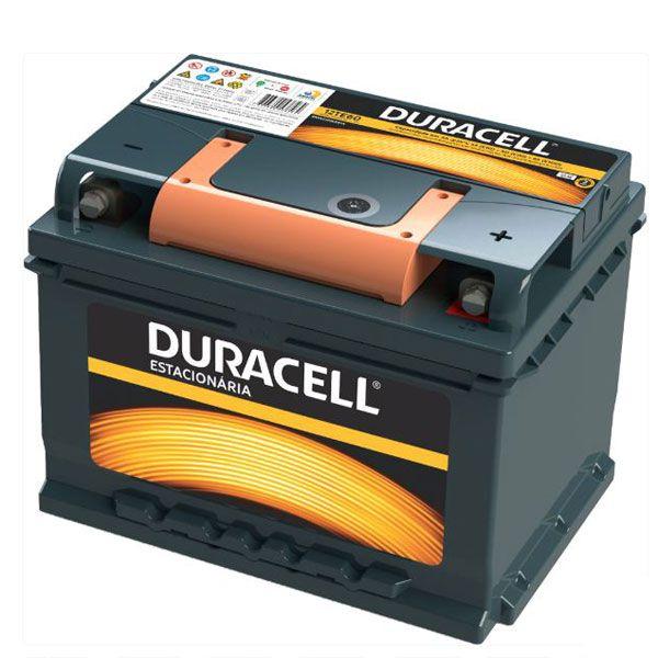 Bateria Estacionária Duracell 12v 65ah  - MixVidas - Sistemas Aquapônicos e Multitróficos