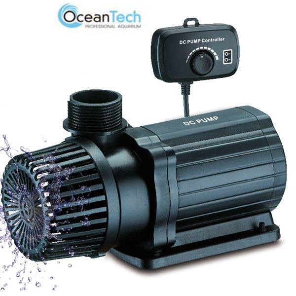 Bomba Submersa Ocean Tech 6.000 - DC - com controle de vazão - 24V  - MixVidas - Sistemas Aquapônicos e Multitróficos
