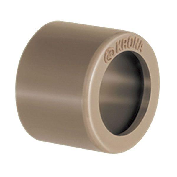 Bucha de Redução Soldável Curta - Krona - 40X32mm  - MixVidas - Sistemas Aquapônicos e Multitróficos