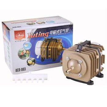 Compressor Eletromagnético Sun Sun -  ACO-003 - 50 litros por minuto - 220v  - MixVidas - Sistemas Aquapônicos e Multitróficos