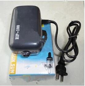 Compressor Eletromagnético -  HP-100 - 1,5 litros por minuto - 220v  - MixVidas - Sistemas Aquapônicos e Multitróficos