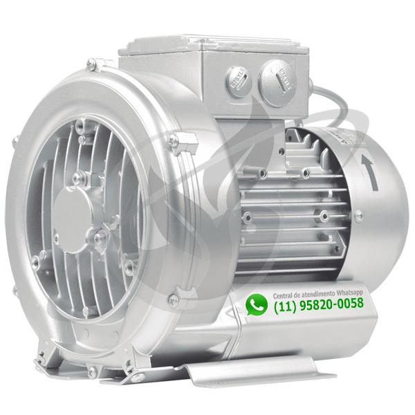 Compressor Radial - Soprador - Nexco - 2,35 CV MONO 2CRN 510 25 SM P1  - MixVidas - Sistemas Aquapônicos e Multitróficos
