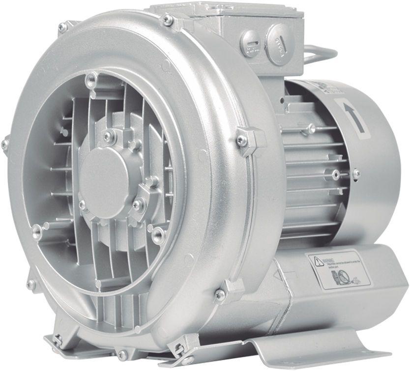 Compressor Radial - Soprador - trifásico - 0,67 CV - 1630 litros por minuto - mod030  - MixVidas - Sistemas Aquapônicos e Multitróficos