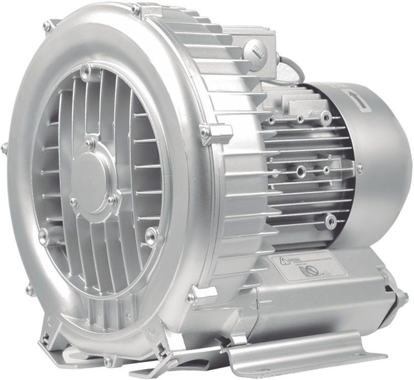 Compressor Radial - Soprador - trifásico - 3,42 CV - 5500 litros por minuto - mod042  - MixVidas - Sistemas Aquapônicos e Multitróficos