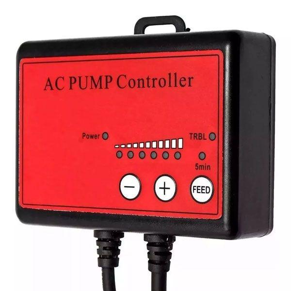 Controlador para Bomba Submersa Ocean Tech AC 6000/9000/12000 127V  - MixVidas - Sistemas Aquapônicos e Multitróficos