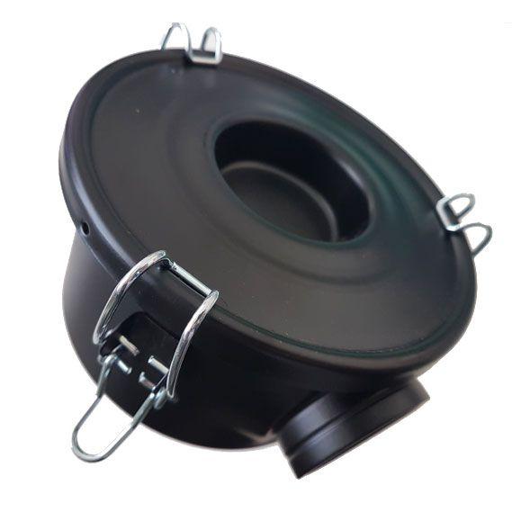 "Filtro de entrada 1,8m³/min - 1.1 /4"" (IN/OUT)  - MixVidas - Sistemas Aquapônicos e Multitróficos"