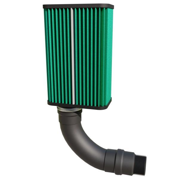 """Kit filtro MixVidas 2008 para compressor de entrada 1-1/2""""  - MixVidas - Sistemas Aquapônicos e Multitróficos"""