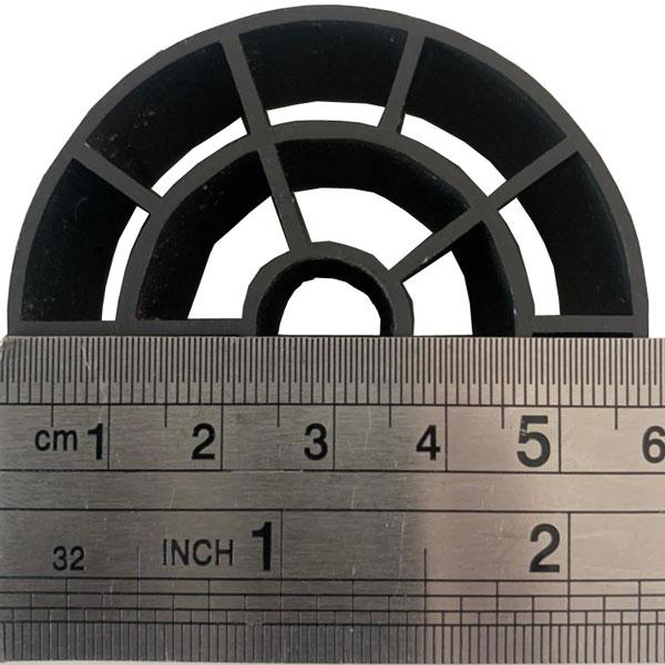 Mídia Biológica Alfa N2 Block - MBBR 60mm x 30mm-  (100 Litros)  - MixVidas - Sistemas Aquapônicos e Multitróficos