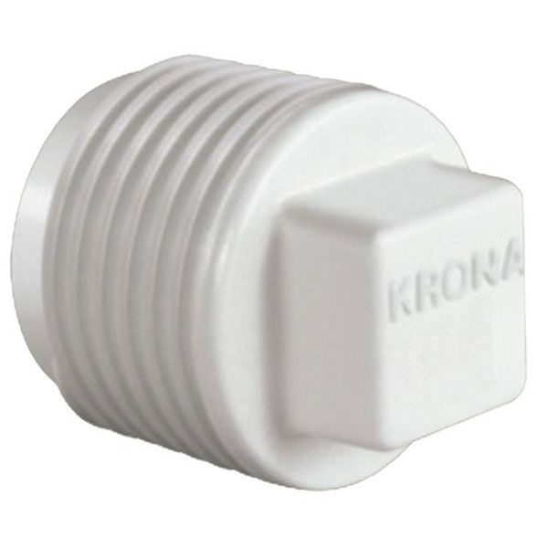 """Plug Roscável 1/2"""" - Krona  - MixVidas - Sistemas Aquapônicos e Multitróficos"""