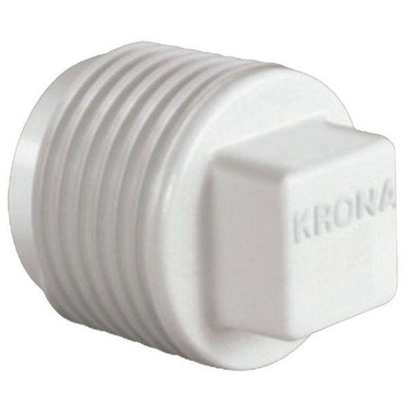 """Plug Roscável 3/4"""" - Krona  - MixVidas - Sistemas Aquapônicos e Multitróficos"""