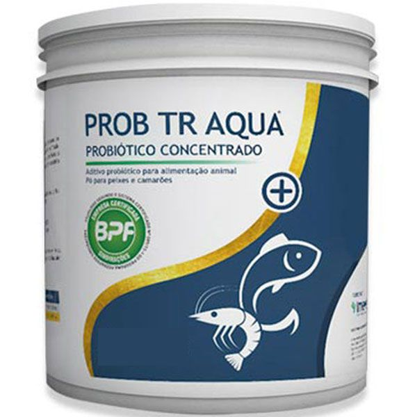 TR AQUA - Probiótico Concentrado para peixes e camarões (1KG)  - MixVidas - Sistemas Aquapônicos e Multitróficos