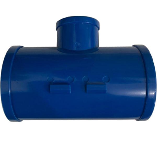 """TEE Derivação 50mm x 3/4"""" - Azul  - MixVidas - Sistemas Aquapônicos e Multitróficos"""