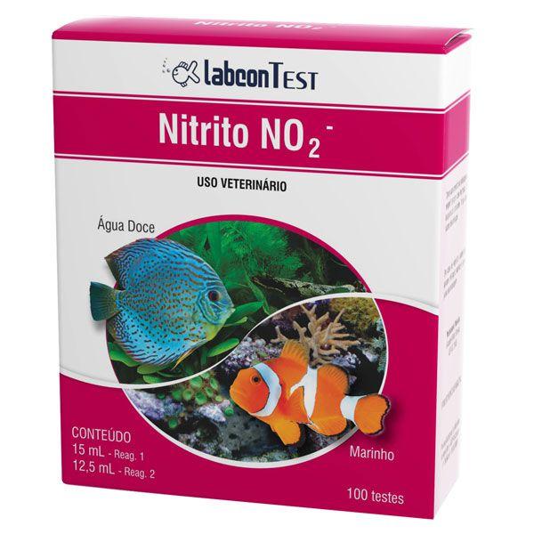 Teste de Nitrito - NO2 - ALCON -100 TESTES - Água doce/Salgada  - MixVidas - Sistemas Aquapônicos e Multitróficos