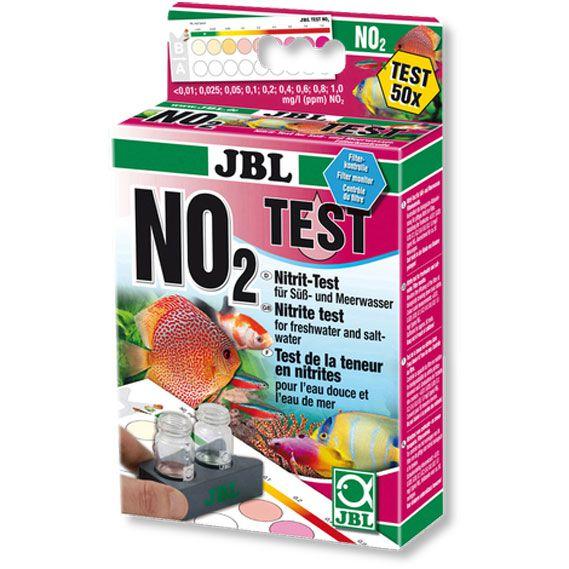 Teste de Nitrito - NO2 - JBL - Água doce/Salgada  - MixVidas - Sistemas Aquapônicos e Multitróficos
