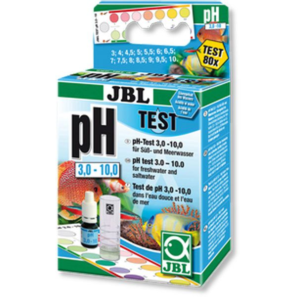Teste de PH - PH - JBL - 80 Testes - Água Doce/Salgada  - MixVidas - Sistemas Aquapônicos e Multitróficos