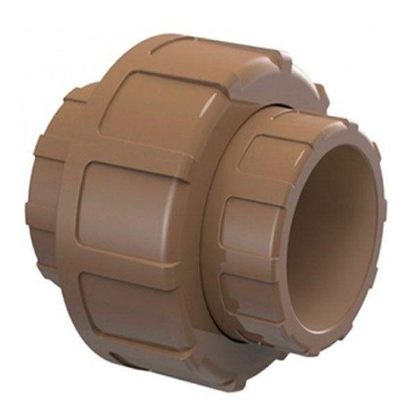 União Soldável - Tigre - 50mm  - MixVidas - Sistemas Aquapônicos e Multitróficos