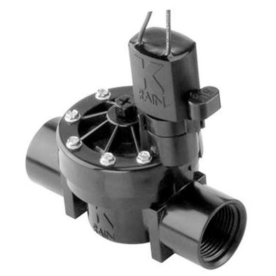 Válvula Solenoide - KRain - PRO100 - 1 BSP  - MixVidas - Sistemas Aquapônicos e Multitróficos