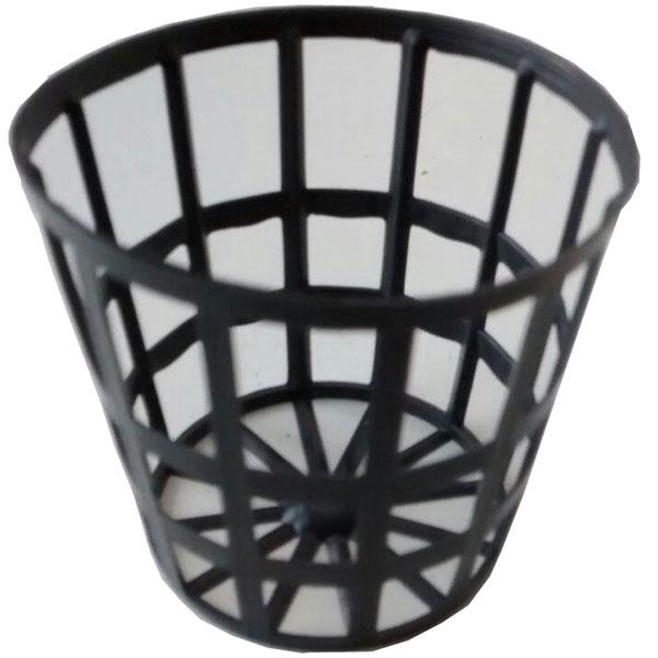 Vaso Para Hidroponia - Netpot - 3,5mm - 50 unidades  - MixVidas - Sistemas Aquapônicos e Multitróficos