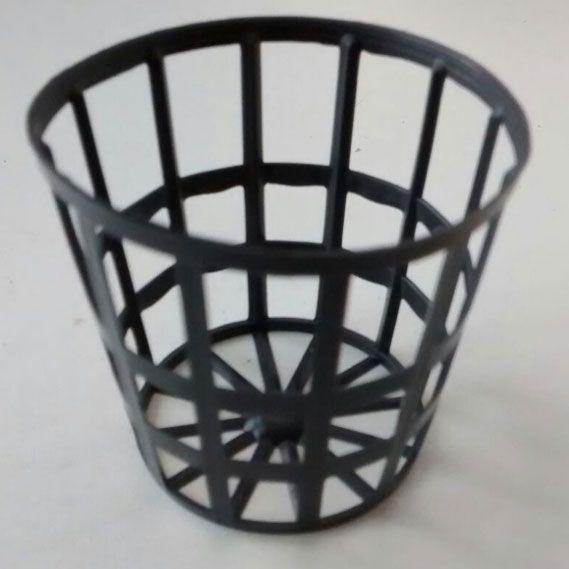 Vaso Para Hidroponia - Netpot - 5,5mm - 100 unidades  - MixVidas - Sistemas Aquapônicos e Multitróficos