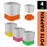 Kit 4x Pote Dappen DUO - INDUSBELLO