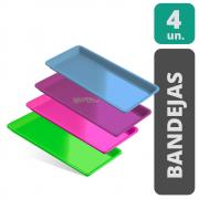 KIT Bandejas  Para Instrumentos - Autoclavável (4 unidades )