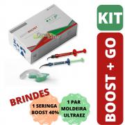 Kit Claremanento Dental - Boost + Go! 15% + Brinde