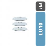 Lentilha Polidora Cinza PM | DHPRO| Desgaste Grosso | 3 unidades