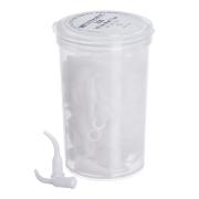 Pontas aspiradoras - White Mac Tips - 100 unidades
