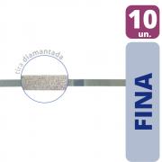 Tiras de Lixa Diamantadas Granulação Fina (Amarela) - 10 unidades
