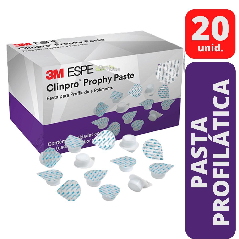 3M - Clinpro Prophy Paste Menta Cap - 20 unid