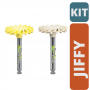 KIT JIFFY Natural TWIST  - (Amarela e Branca)