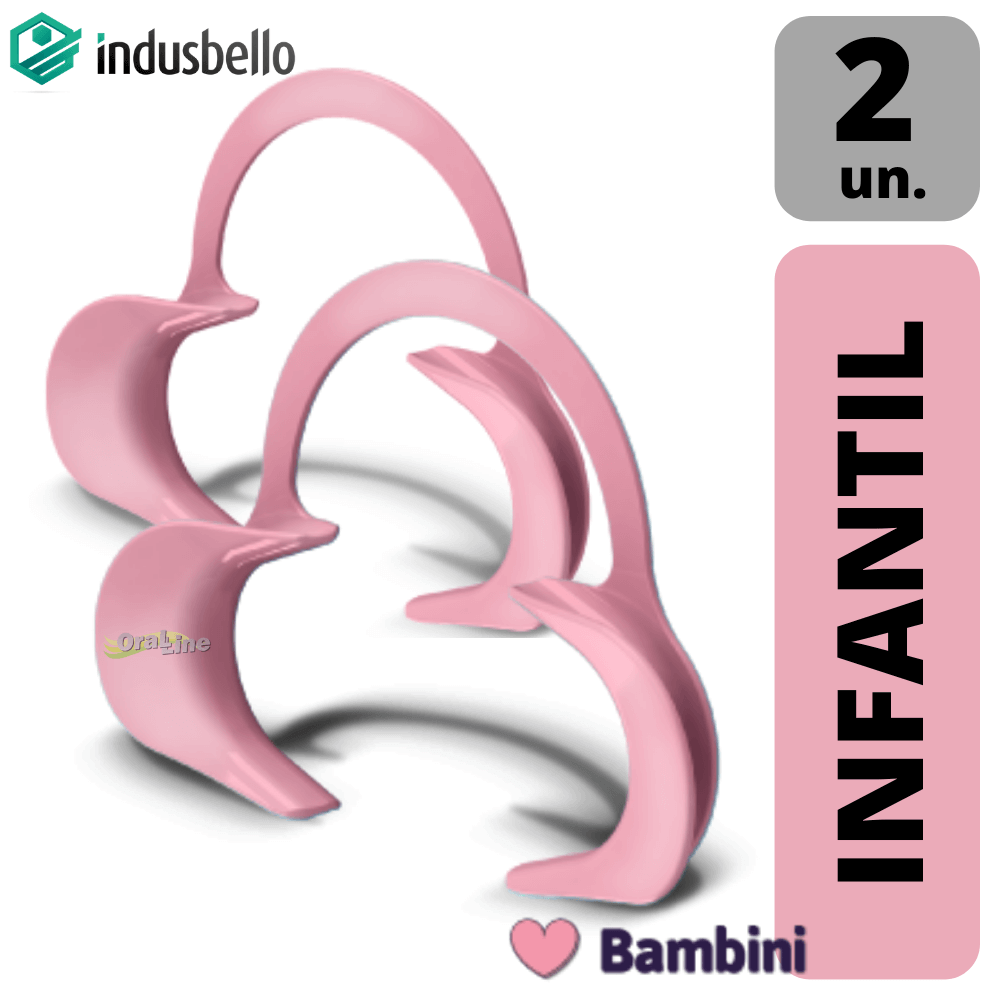 Afastador Labial Expandex Infantil - Indusbello