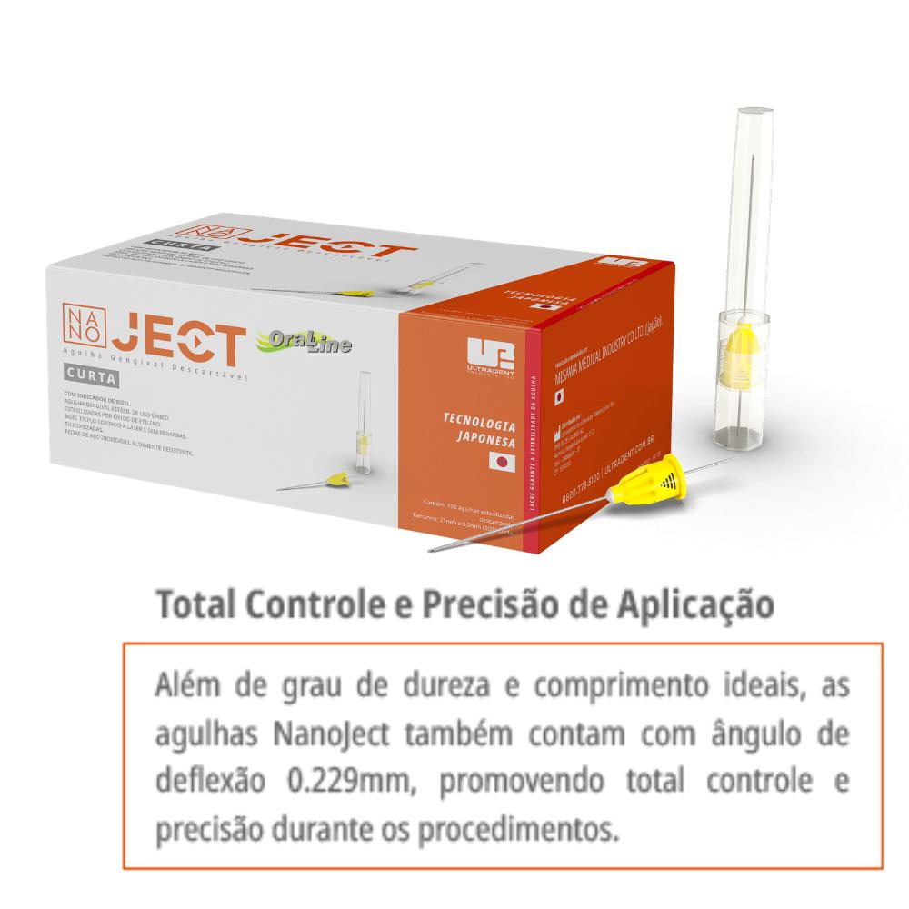 Agulha Gengival CURTA (100 unidades) - Ultradent