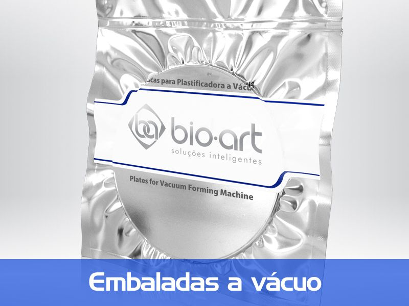BIOART - Placa Cristal 1mm Redonda - 2 unidades