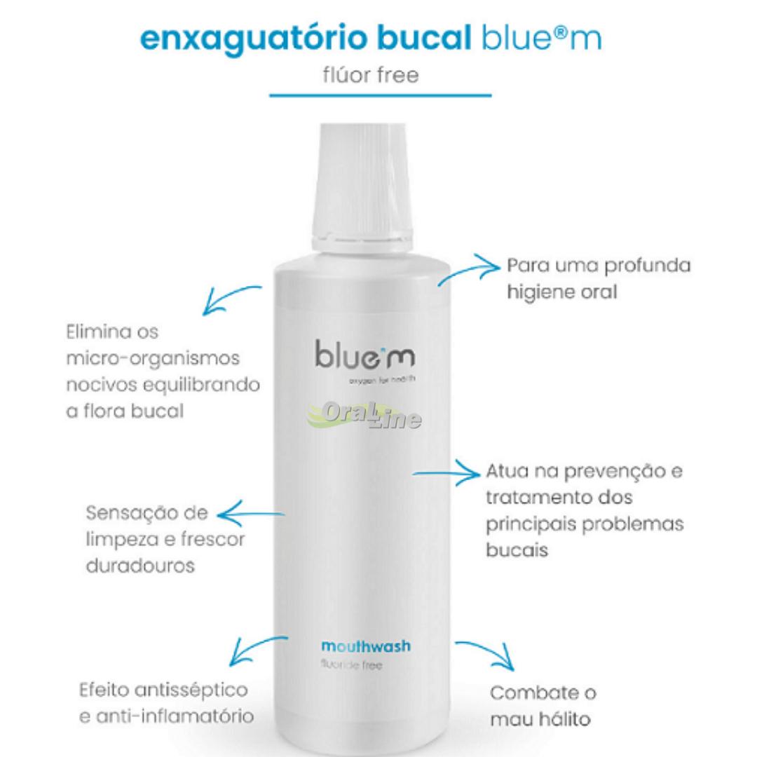 BLUEM - Mini Enxaguatorio Bucal Bluem 50ml