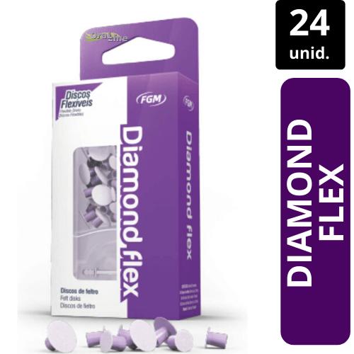 Disco de Feltro - Diamond Flex