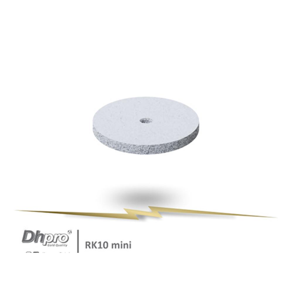 Disco/Roda Polidor Branco PM | DHPRO| Desgaste Super Grosso | 3 unidades