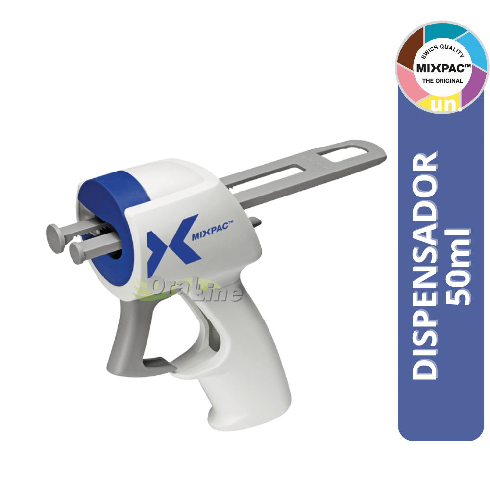 Dispensador 50ml   Silicone de Adição   Mixpac