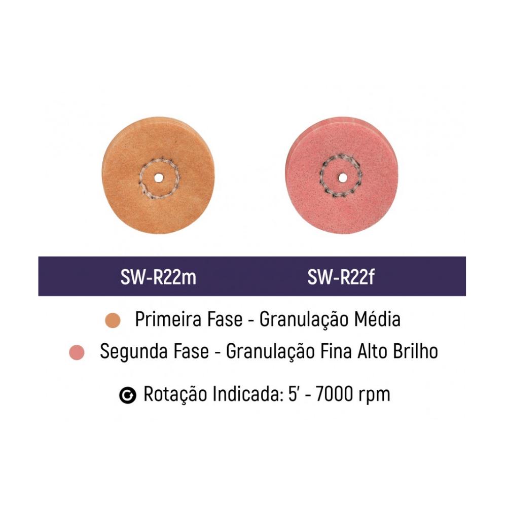 EVE SOFT WHEELS | Flanela Impregnada | Kit c/2 Unidades