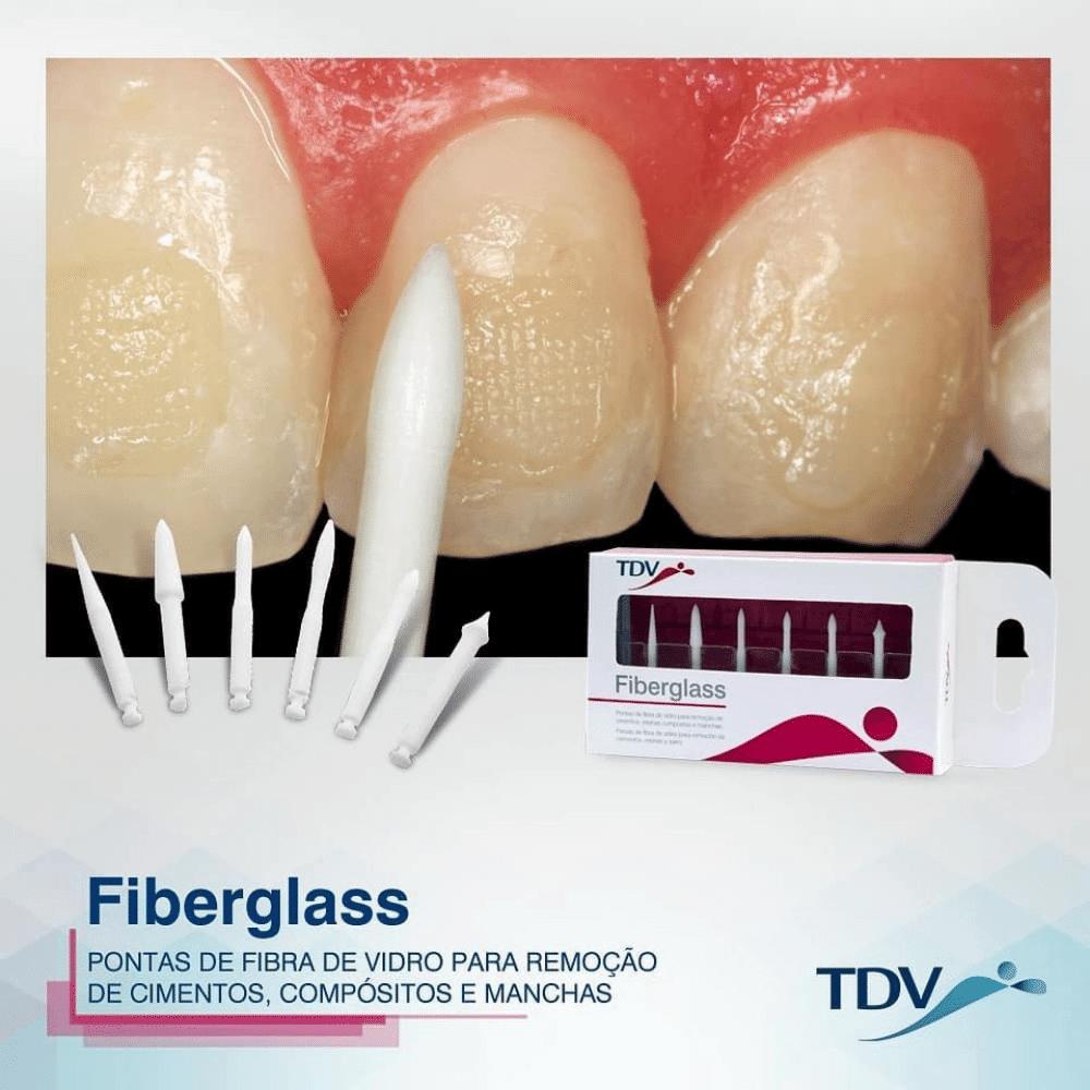 Fiberglass Kit | Ponta de Fibra de Vidro | TDV | 6 unidades