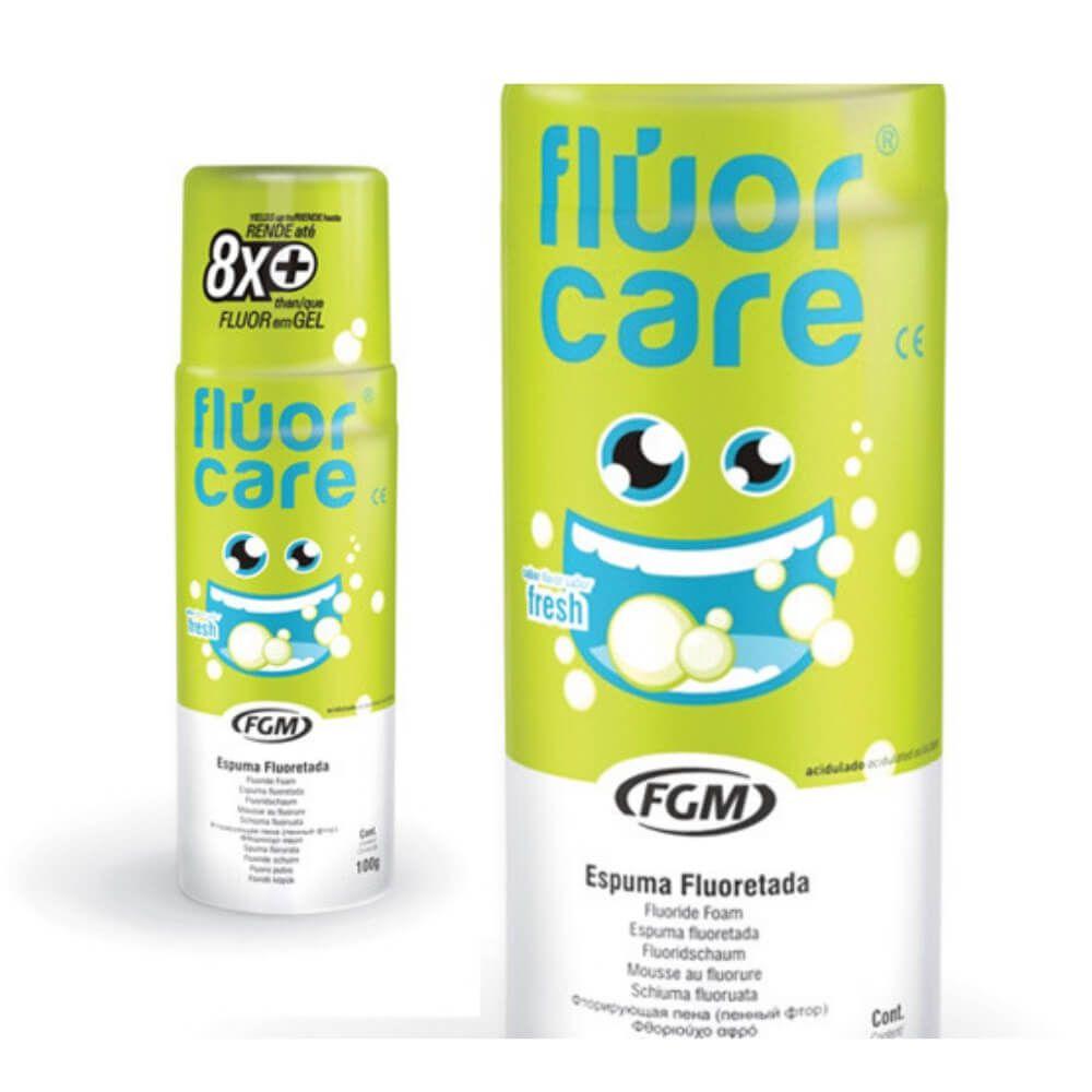 Flúor em Espuma - Fluor Care