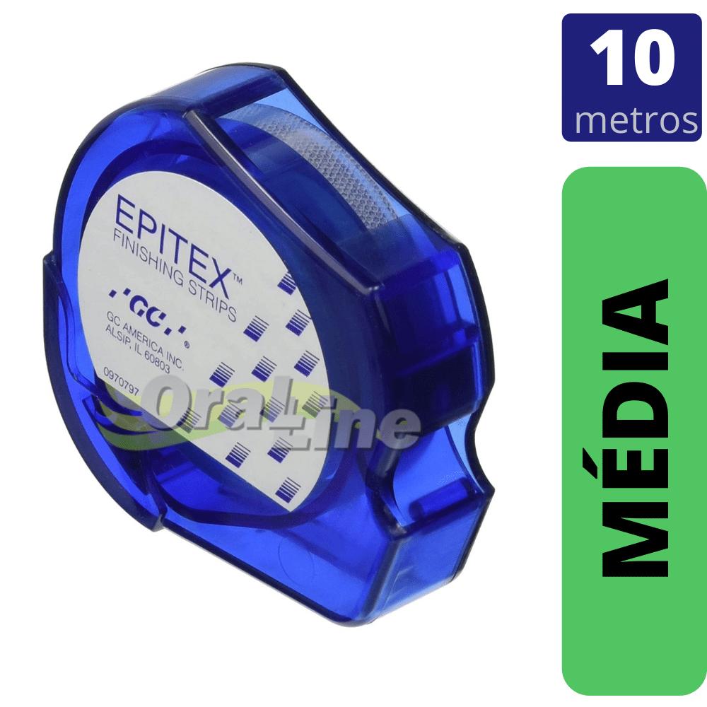 GC - Tira de Lixa EPITEX REFIL - MÉDIA - VERDE  10mts